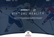 NHL Hockey in VR