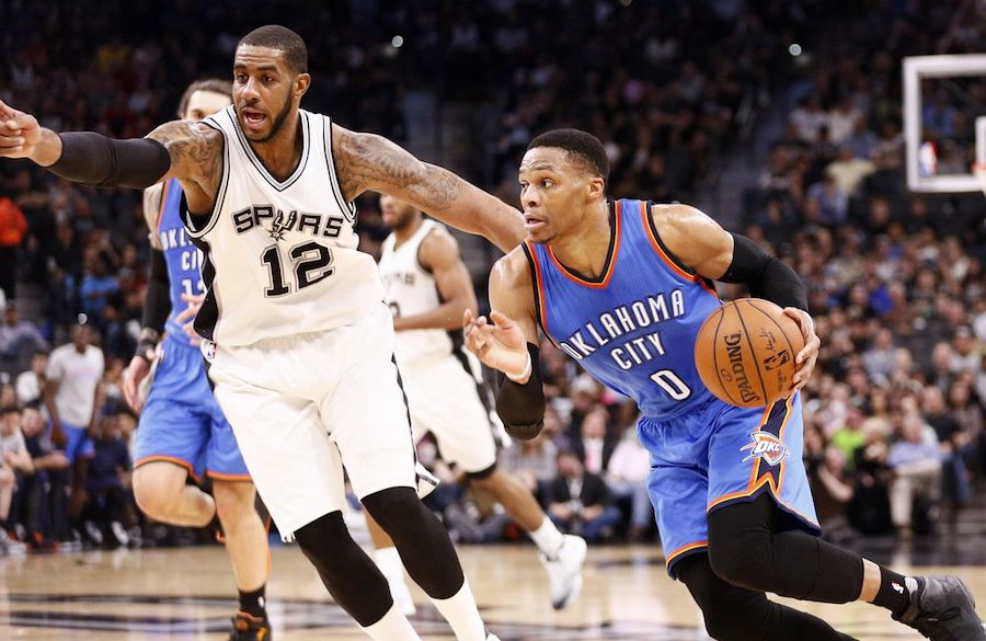 San Antonio Spurs at Oklahoma City Thunder - Live in VR