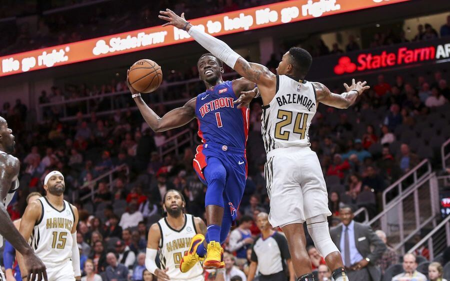 Detroit Pistons at Atlanta Hawks - Live in VR