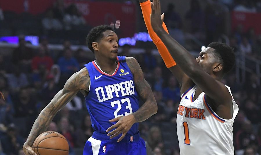 LA Clippers at New York Knicks - Live in VR