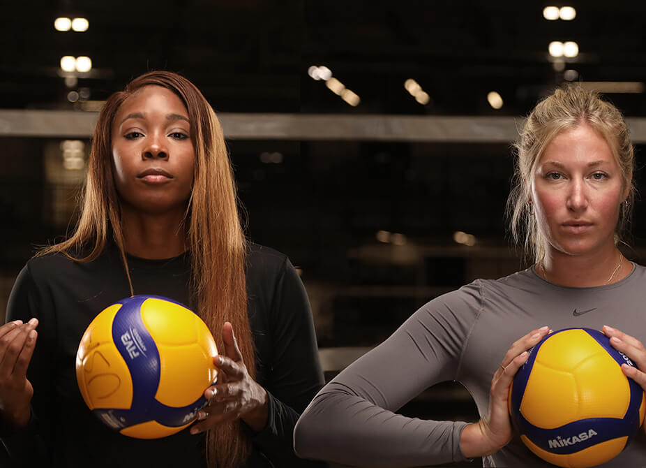 Athletes Unlimited Volleyball - Live in VR