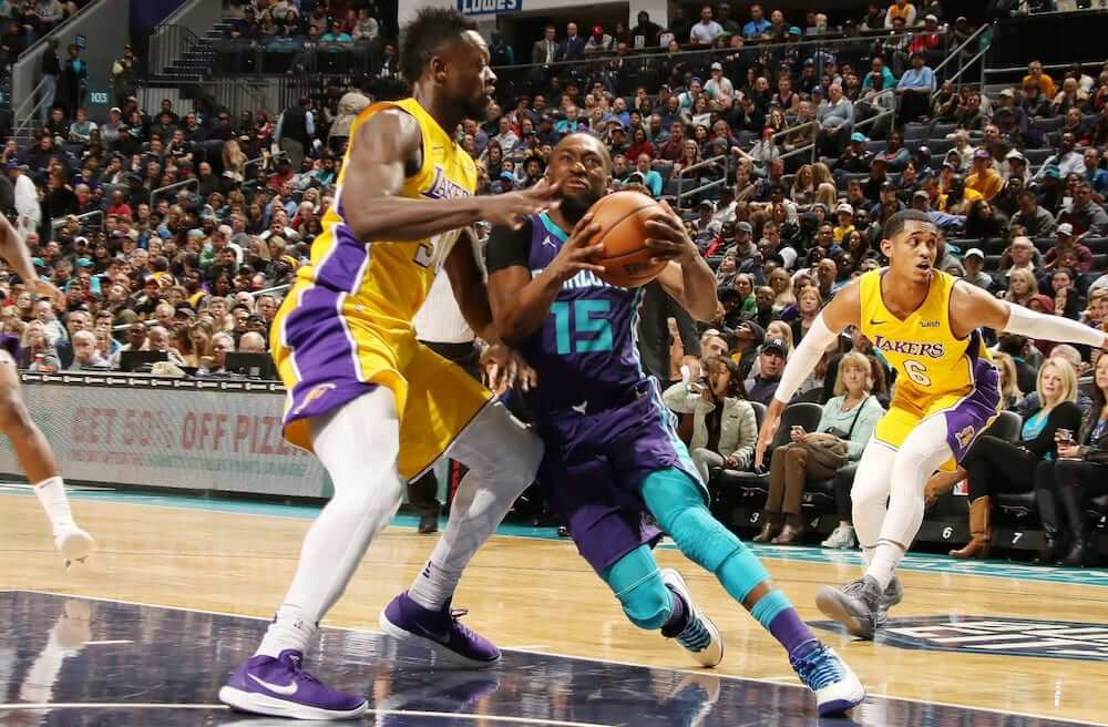 LA Lakers at Charlotte Hornets 2021 - Live in VR