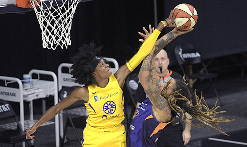 Los Angeles Sparks at Phoenix Mercury WNBA - Live in VR
