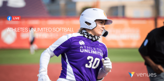 Athletes Unlimited Softball Game 14 - Live in VR