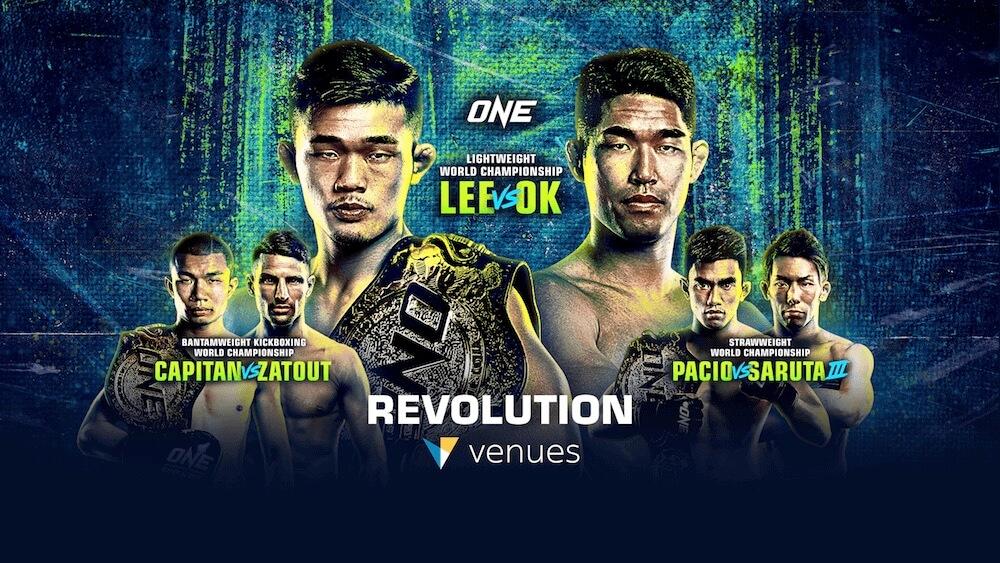 ONE- REVOLUTION – Martial Arts Event - Live in VR