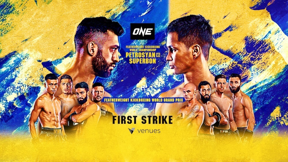 Rewatch martial arts extravaganza ONE: FIRST STRIKE – Martial Arts in this Kickboxing Mega Event.