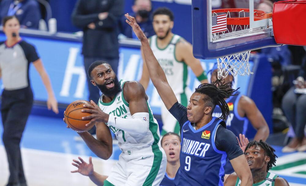 OKC Thunder at Boston Celtics 2021 NBA - Live in VR