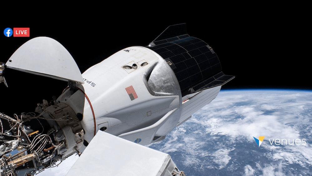 SpaceX Astronauts Splash Down - Live in VR