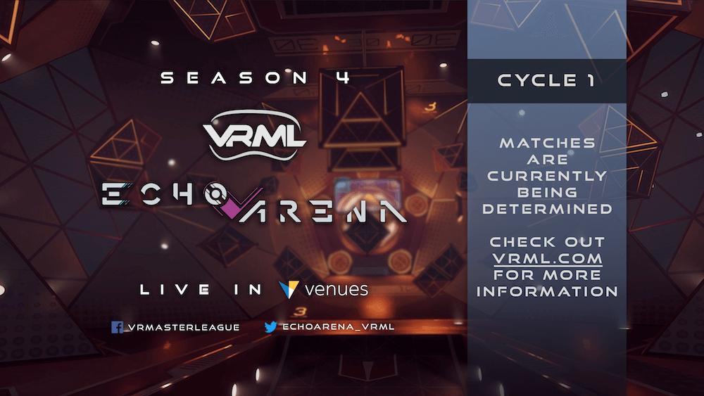 Echo Arena - Season 4 Week 7 - VRML - Live in VR